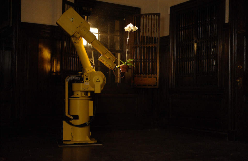 Fanuc S-10 Robot Installation Art,  Gordon C. Kirkwood 2011.